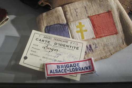 Documents de la Brigade Alsace-Lorraine, des FFI engagés dans la 1ère Armée française.