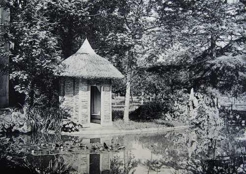 Une vue du plan d'eau en 1907.