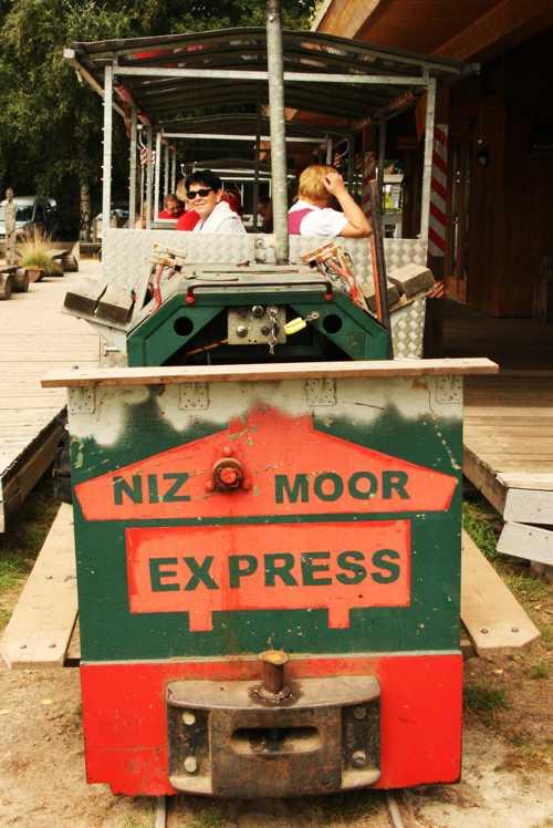 Voici le Moor Express, prêt au départ.