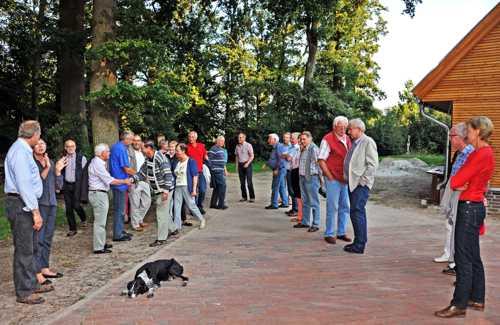 A notre arrivée, nous étions attendus par des membres du Heimatsverein de Lohne.
