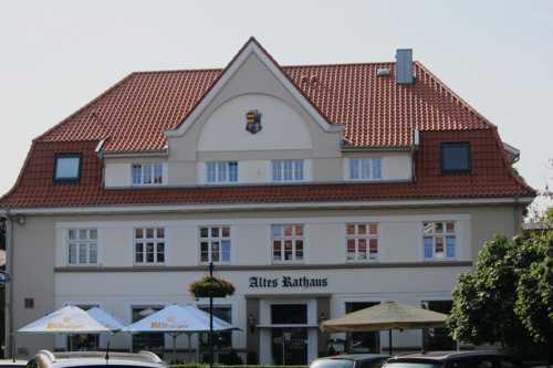 L'ancien Rathaus, édifié en 1924, vendu en 1977, devenu aujourd'hui un restaurant.