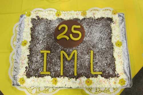 Il s'agissait bien de fêter les 25 ans de l'IML.