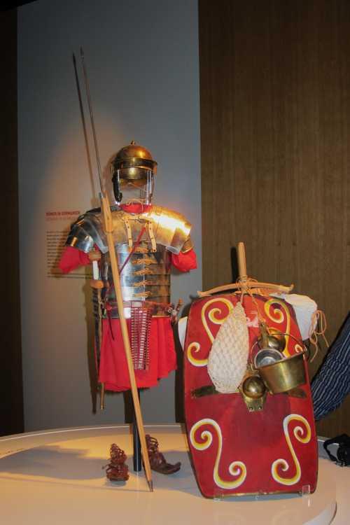 L'uniforme du légionnaire romain.