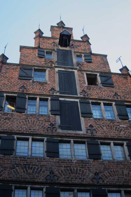 Une maison à pignons, caractéristique de la Böttcherstrasse.