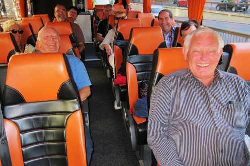 Nous étions un peu plus nombreux dans le bus.