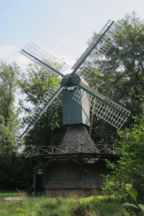 Un moulin à vent, datant de 1879.