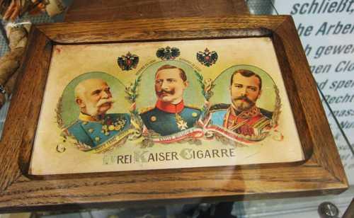 Une célébrité lohnoise, le cigare des trois empereurs.