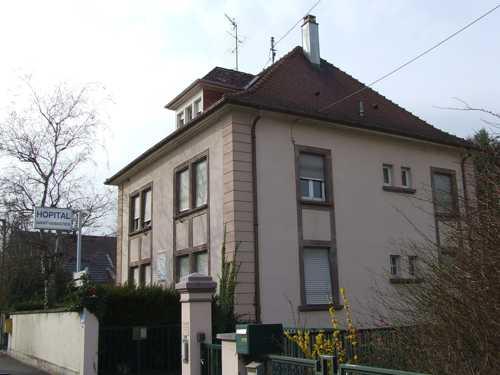 La maison de retraite édifiée en 1939