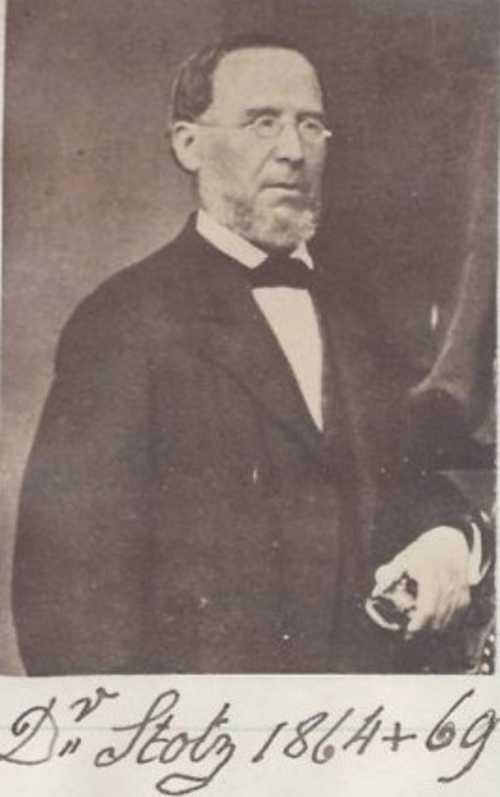 Le docteur Georges Stotz, médecin cantonal et en charge de la maison de secours