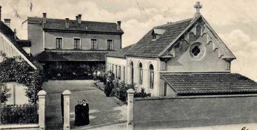 L'hôpital de Rixheim en 1910.