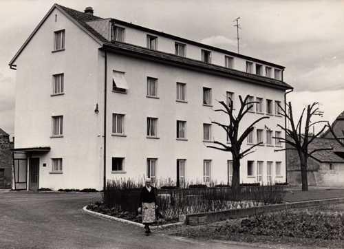 La maison de retraite construite en 1965.