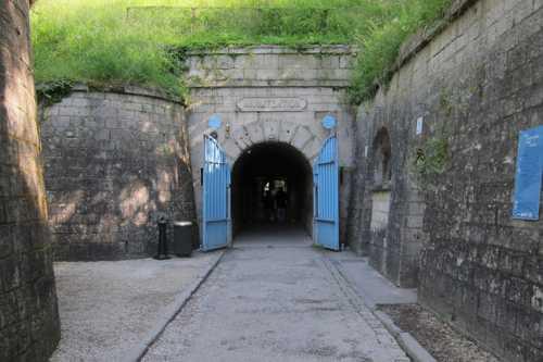 L'entrée dans la Citadelle