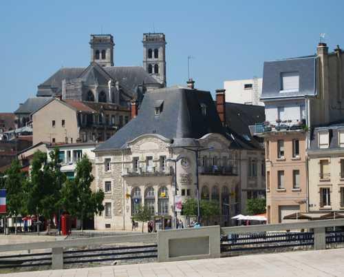 La cathédrale Notre-Dame de Verdun.
