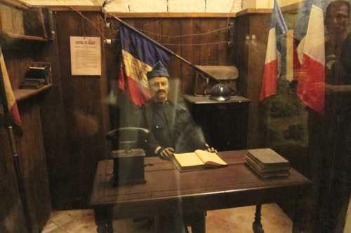 Le poste de commandement du fort.