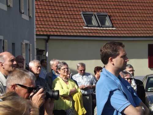 Un public tout aussi  et attentif et intéressé.