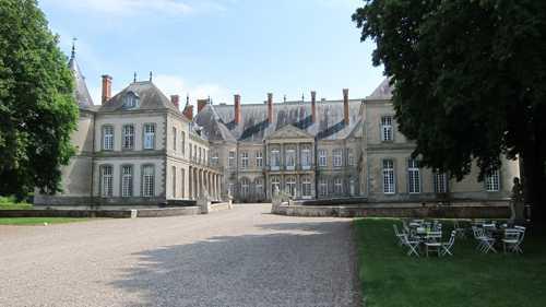 Le château de Beauvau-Craon à Haroué.