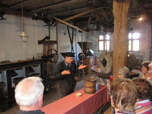 Dans ce grenier a été installée l'ancienne huilerie de Koestlach, qui produisait de l'huile de noix et de l'huile de colza.