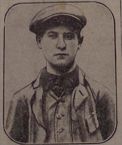 David Bloch, né à Guebwiller en 1895 et fusillé à l'Ile Napoléon en 1916.