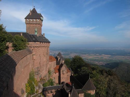 La sentinelle de l'Alsace, vue prise du grand bastion.