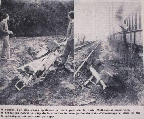 """Un extrait de la page du journal """"L'Alsace"""" en date du 15 septembre 1966."""
