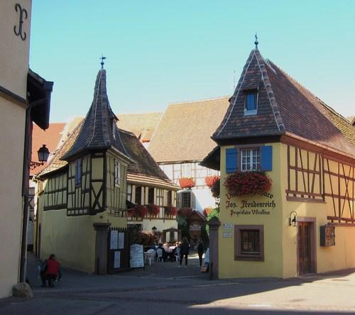 L'ancienne cour dîmière du couvent d'Unterlinden de Colmar.