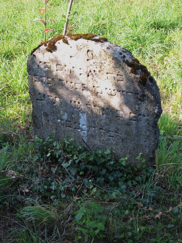 La tombe d'Abraham Dreyfus, l'arrière grand père du capitaine Alfred Dreyfus.