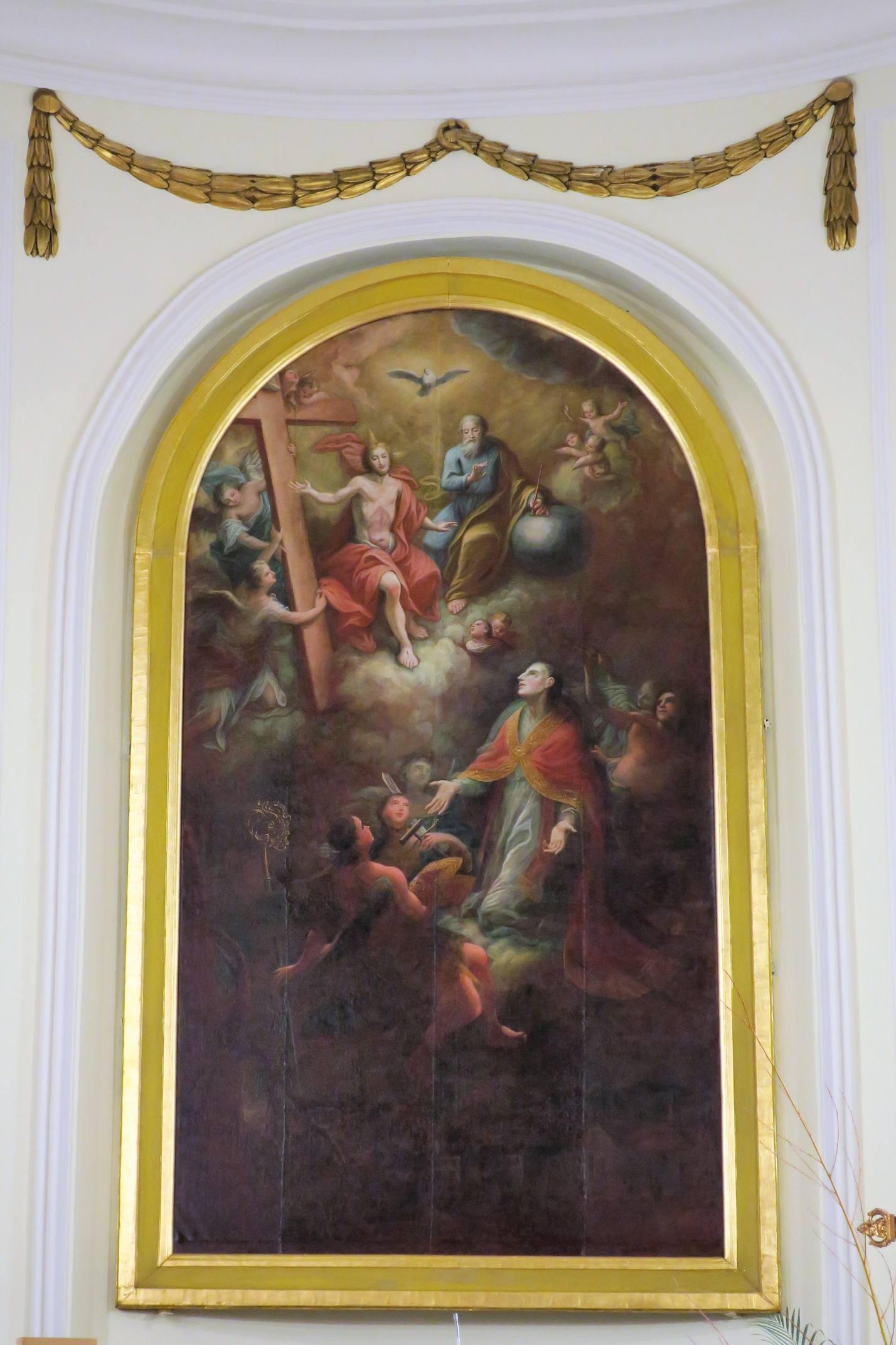 La Glorification de Saint Léger.
