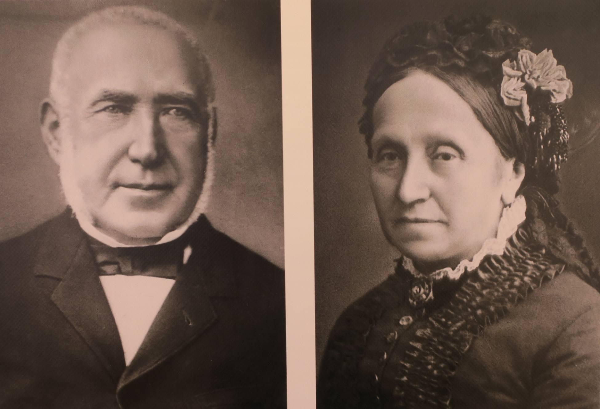 Raphaël Dreyfus et Jeannette Libmann, les parents du capitaine.