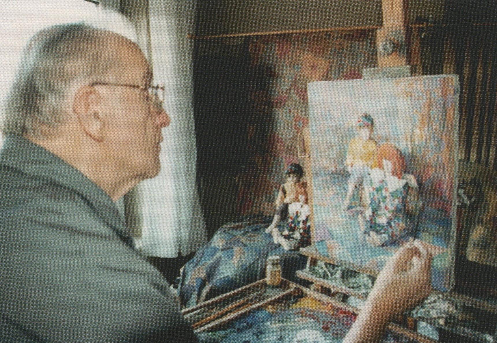 René Vetter (1926-2001), artiste-peintre rixheimois.