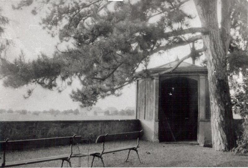 Le kiosque-belvdère vers 1900.