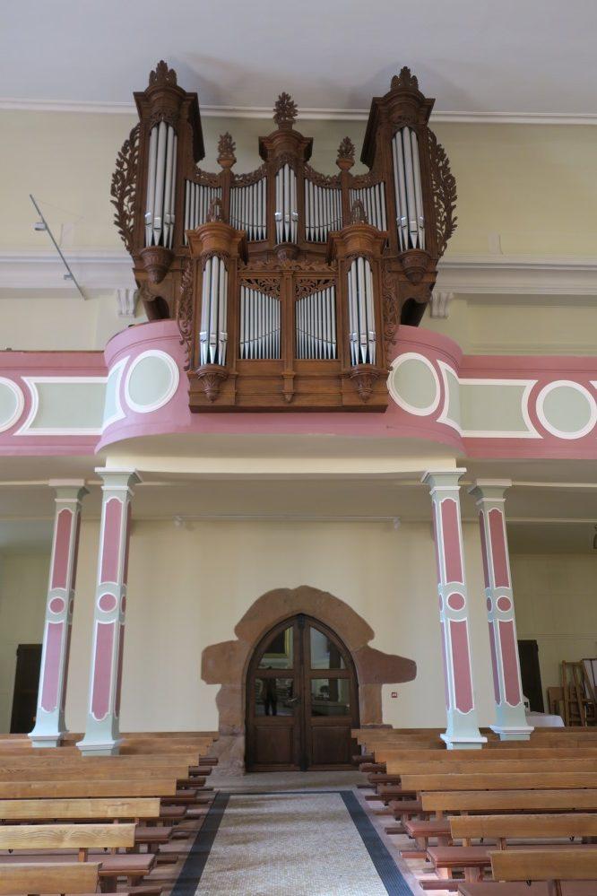 L'orgue de Rixheim dans son nouvel écrin.