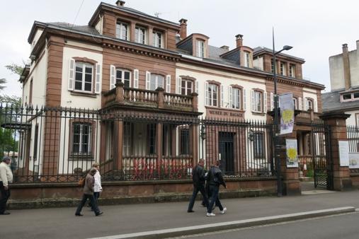 Le Musée du bagage est installée dans l'ancienne Banque de France de Haguenau
