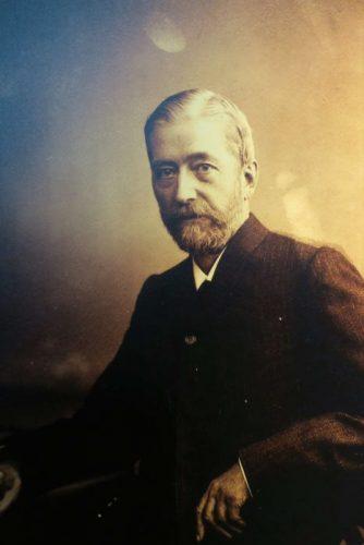 Xavier Nessel (1834- ), maire de Haguenau de 1841 à 1902, qui prgogramma la construction du Musée historique.