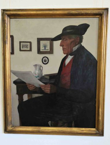 La lecture (1927), de Gustave Stoskopf.