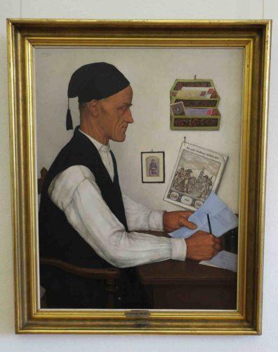 """""""Le messager boiteux """" (1935) de Gustave Stoskopf."""