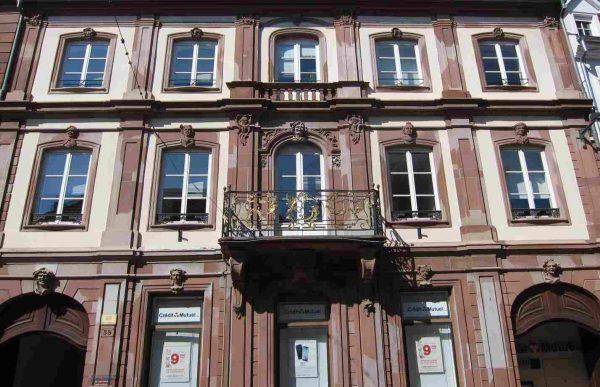 La belle façade de l'hôtel Barth.